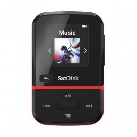 ODTWARZACZ SANDISK MP3 16GB CLIP SPORT GO – Czerwony