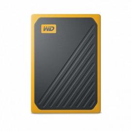DYSK PRZENOŚNY WD My Passport Go SSD 500GB - żólty