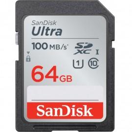 KARTA SANDISK ULTRA SDXC 64GB 100MB/s UHS-I Class 10