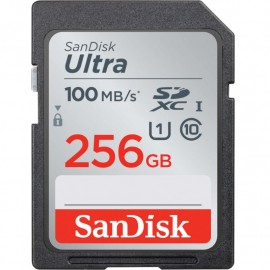 KARTA SANDISK ULTRA SDXC 256GB 100MB/s UHS-I Class 10