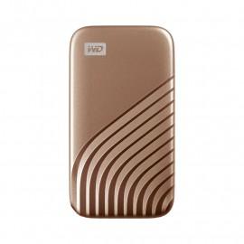 DYSK PRZENOŚNY WD My Passport SSD 500GB Gold (1050/1000 MB/s)