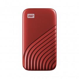DYSK PRZENOŚNY WD My Passport SSD 500GB Red (1050/1000 MB/s)
