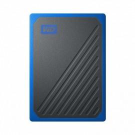 DYSK PRZENOŚNY WD My Passport Go SSD 2TB - niebieski