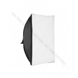 GlareOne Softbox światła ciągłego, 50x70cm, na 1 świetlówkę