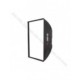 Softbox prostokątny GlareOne Strappo 80x120cm - mocowanie bowens