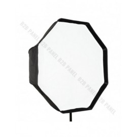Softbox oktagonalny GlareOne Parasolkowy 80cm z dyfozorem do lamp reporterskich