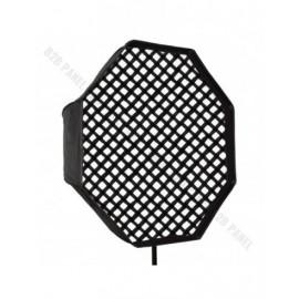 Softbox oktagonalny GlareOne Parasolkowy 80cm z dyfozorem oraz gridem do lamp reporterskich