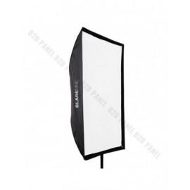 Softbox prostokątny GlareOne Parasolkowy 80x120cm z dyfozorem do lamp reporterskich