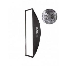 Softbox prostokątny GlareOne szybki montaż Easy Fold 30x120cm - mocowanie bowens
