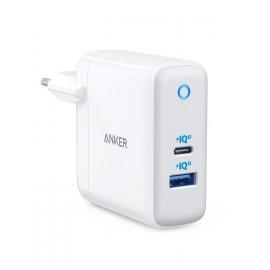 Ładowarka Anker PowerPort+ Atom III 45W USB C + 15W USB A Biała