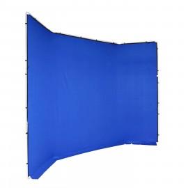 Manfrotto Chroma Key FX 4x3m Tło bez ramy - Niebieskie