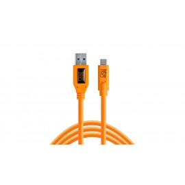 TETHER TOOLS TetherPro USB-A 3.0/ USB-C 4.6m Orange kabel do tetheringu