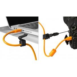 TETHER TOOLS JerkStopper Camera Support + Aero Clip-on Support zabezpieczenie kabla