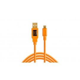 TETHER TOOLS TetherPro USB-A 2.0/Mini-B 5-Pin 4.6m Orange kabel do tetheringu
