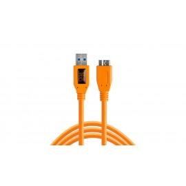 TETHER TOOLS TetherPro USB-A 3.0/ Micro-B Right Angle 4.6m Orange kabel do tetheringu