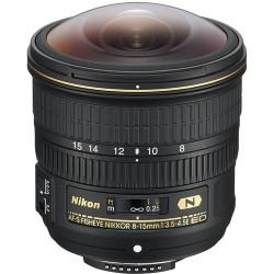 Obiektyw NIKON AF-S 8-15mm f/3.5-4.5E ED FISHEYE NIKKOR