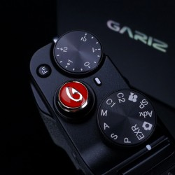 Soft button Gariz XA-SB2 czerwony i czarny